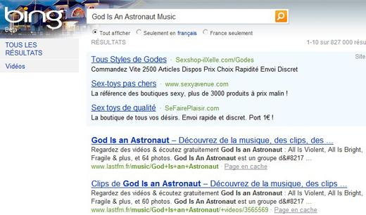 Gode is an asstronaut